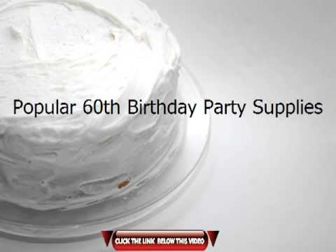 Top 60th Birthday Party Ideas For Men