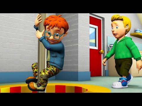Sam el Bombero Español 🌟Fuego en la estación de bomberos - capitulos completos 🔥Dibujos animados