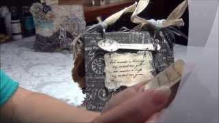 Discount Paper Crafts Design Team Call, Part 2- Prima Printery Chunky Mini, Card