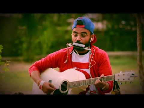 Ye dosti hum nahi todenge    harmonica and guitar cover by manav