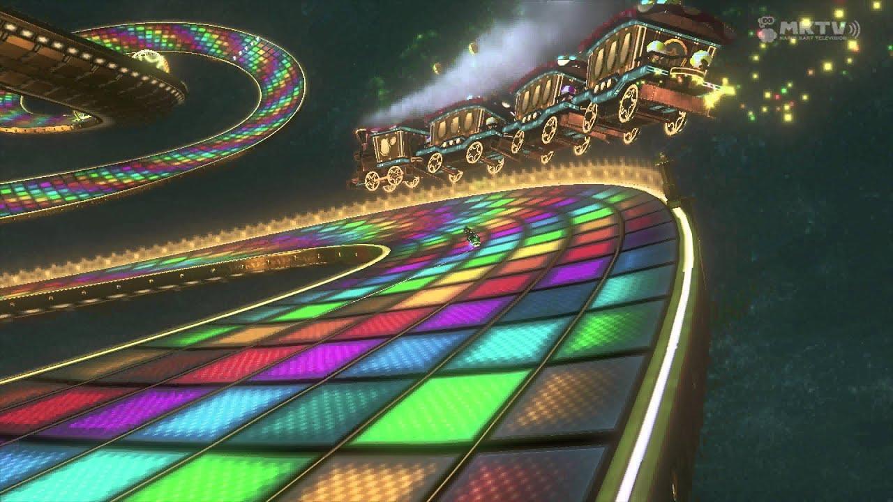 4k Mario Kart 8 Rainbow Road N64 Full Replay 2160p Youtube