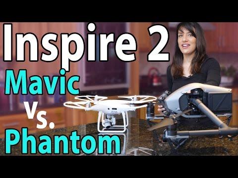 $5,000 DJI Inspire 2 vs Phantom 4 Pro & Mavic: Worth It?