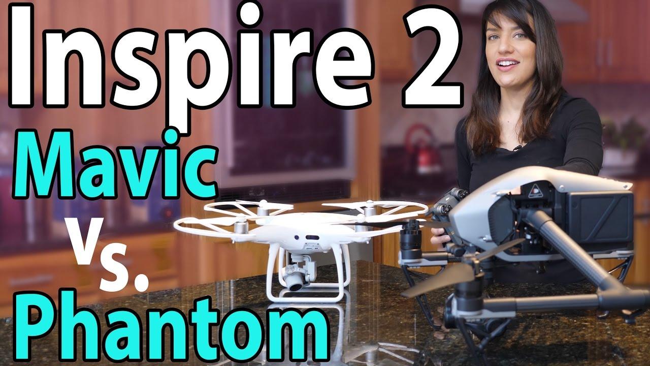 95677a4aa8e $5,000 DJI Inspire 2 vs Phantom 4 Pro & Mavic: Worth It? - YouTube