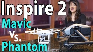 $5,000 DJI Inspire 2 vs Phantom 4 Pro & Mavic: Worth It?