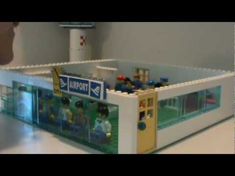 Custom Lego Airport Youtube