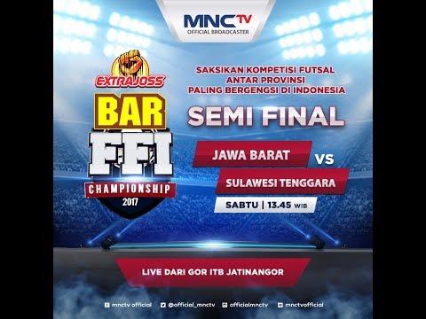 Jawa Barat VS Sulawesi Tenggara - Extra Joss BAR FFI Championship 2017