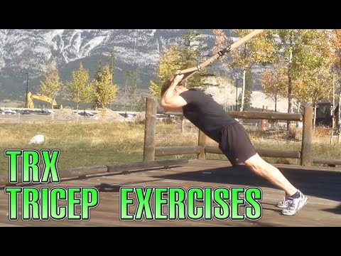 TRX Tricep Exercises