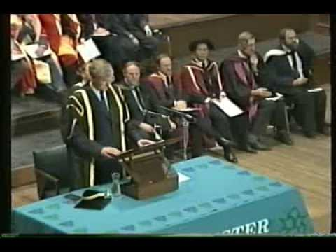 Manchester Polytechnic Conferment of Degrees 1989