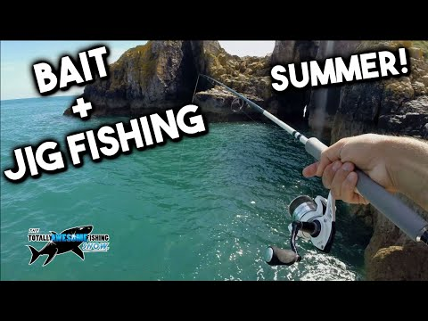 Summer Rock Fishing with Jigs & Bait   TAFishing