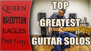 Top greatest guitar solos ever