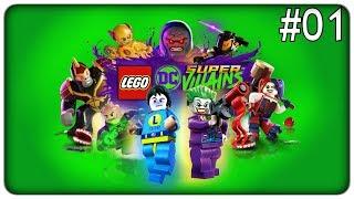FUGGIAMO DI PRIGIONE CON JOKER E LEX LUTHOR | Lego DC Super-Villains - ep. 01 [ITA]