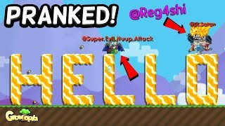 MADE A VIDEO W/ @Reg4shi!! | Growtopia