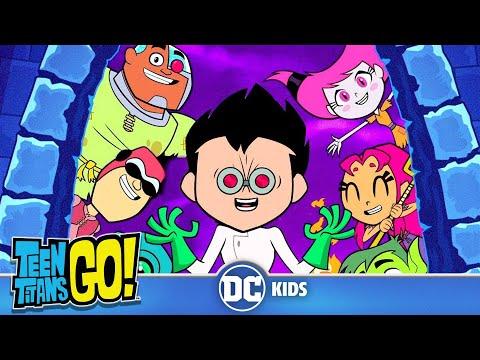 Teen Titans Go!   Scary Figure Dance!