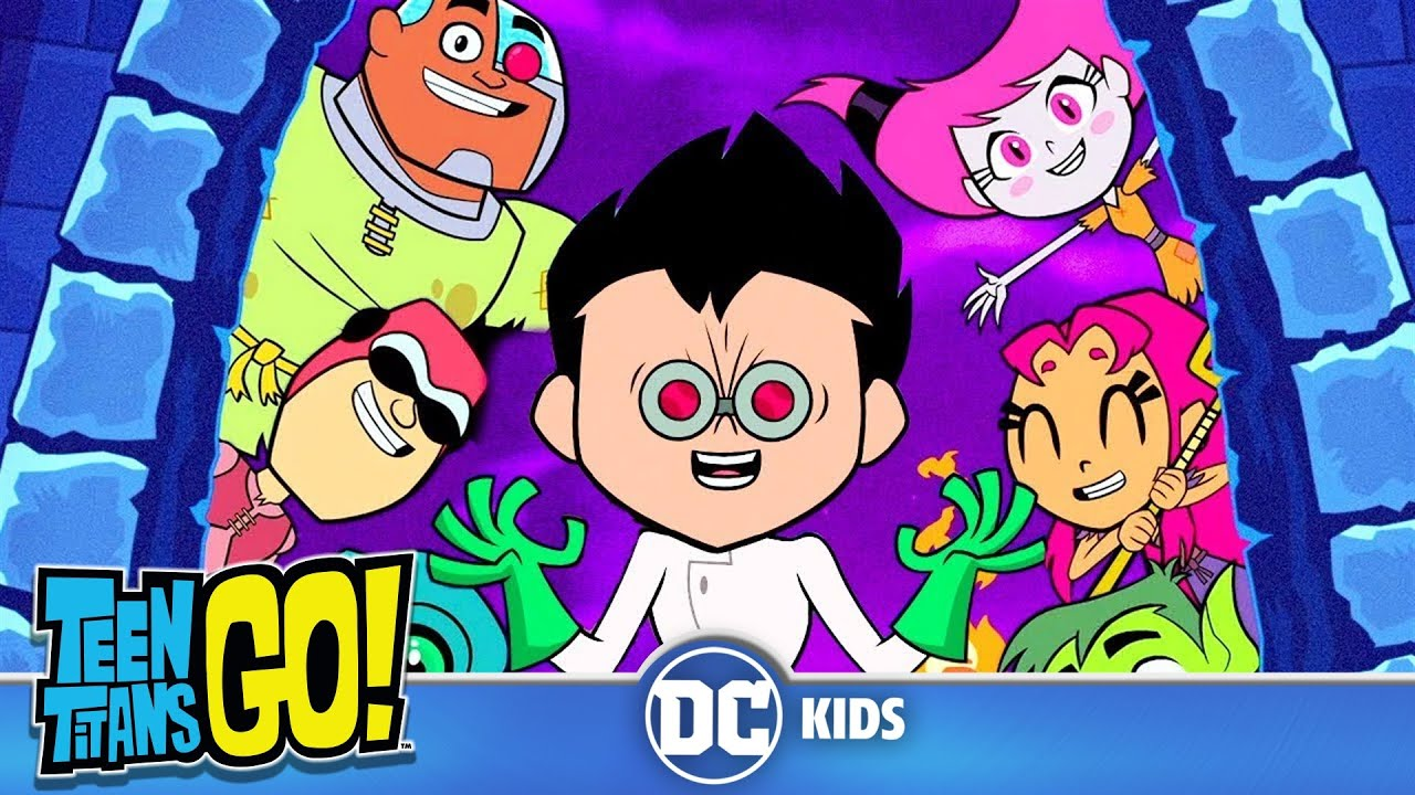 Teen Titans Go! | Scary Figure Dance! | DC Kids