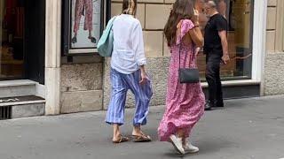 Уличный стиль итальянцев / Стритстайл летом / Футбольный Рим / Отмечаем в ресторане