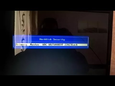 How to unlock wd hard disk remove hdd password by DFL