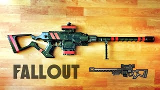 replica nerf fallout sniper rifle   stryfe mod 3d printed attachment by terin