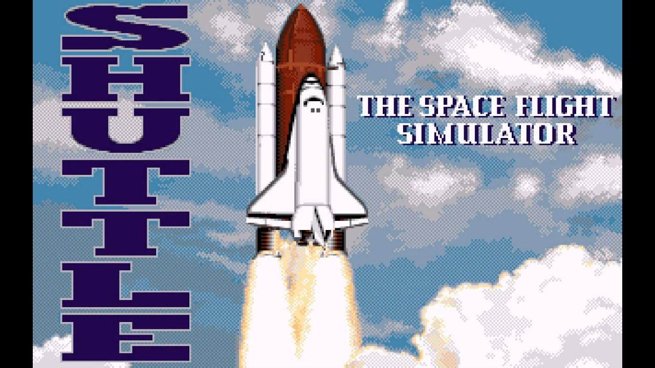 Shuttle: The Space Flight Simulator (PC,DOS) 1992 Virgin ...