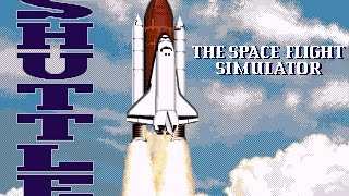 Shuttle: The Space Flight Simulator (PC,DOS) 1992 Virgin Games/Vector Grafix ltd,