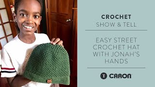 Beginner Crochet Hat Project | With Jonah's Hands