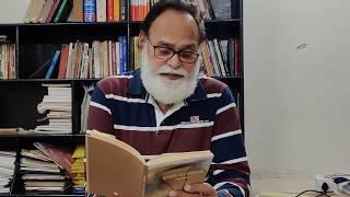 Com. Shashi Prakash reciting some of his poems