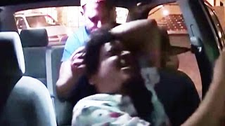 Uber Driver Attacked By Drunk Passenger (VIDEO)