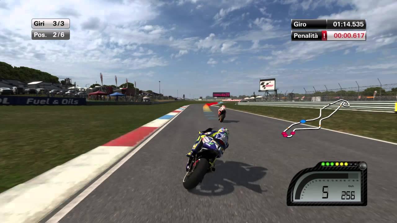 MotoGP™14 ultimo giro online rossi vs marquez vittoria rossi - YouTube