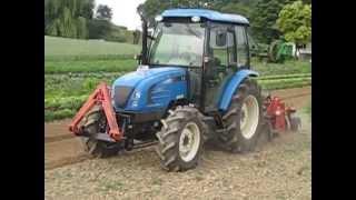 LS Tractor U60 mit Beetfräse