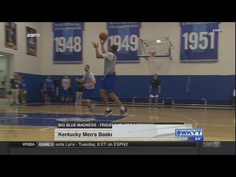 WATCH | UK Men's Basketball Media Day press conference