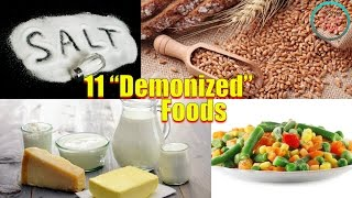 12  Demonized  Foods That Are Actually Good For You