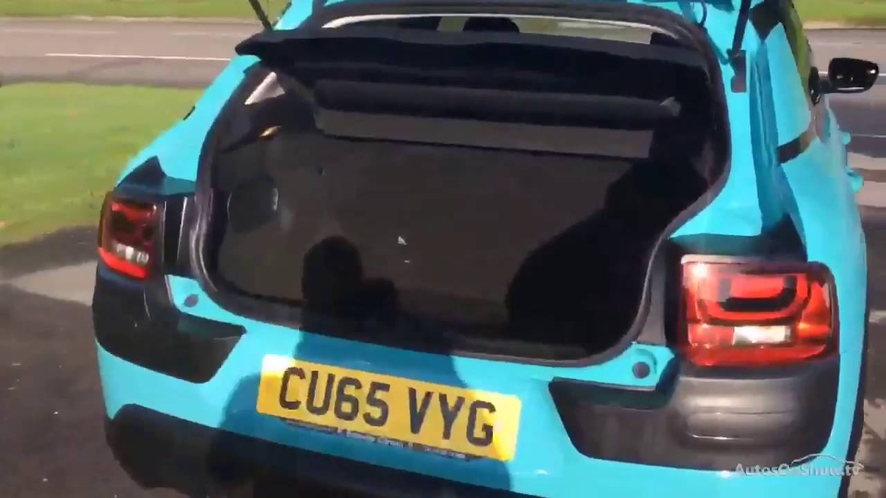 citroen c4 cactus bluehdi flair blue 2015 youtube. Black Bedroom Furniture Sets. Home Design Ideas