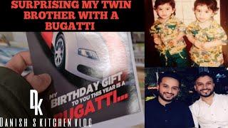 Suprising My Twin Brother With Bugatti  Twins Birthday 2020  Vlog