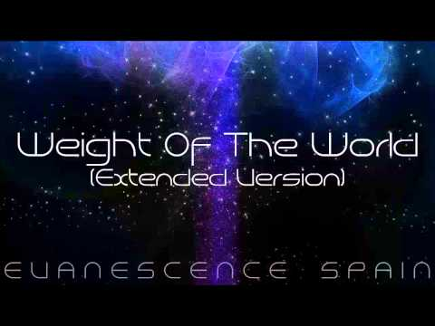 Evanescence Weight Of The World Extended Version HD 720p
