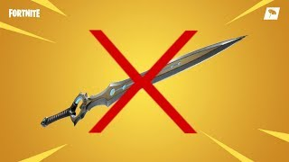 INFINITY BLADE REMOVED FROM THE GAME BY DEVELOPERS! FORTNITE REAL ITA BATTLE