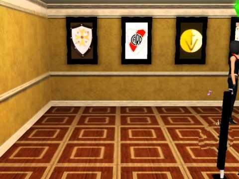 Sims 3 Luciana Rock ve Cuadros de Escudos