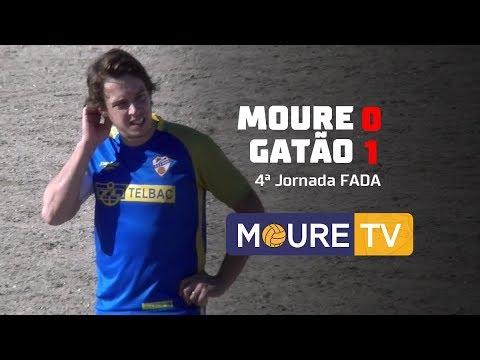 Moure 0-1 Gatão - FADA 1ª Div 17/18 - Moure TV
