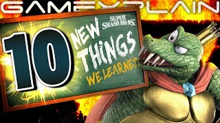 10 NEW Things We Learned About Smash Bros. Ultimate! (World of Light & Palutena
