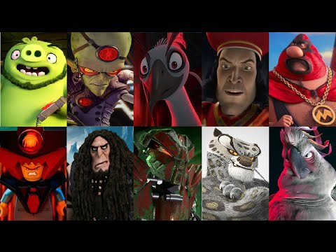 Defeats Of My Favorite Animated Non-Disney Movie Villains Part 1