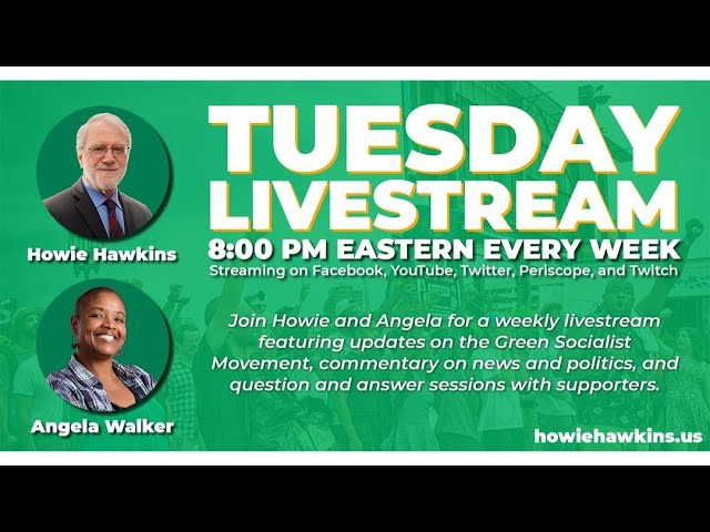 Ask Howie & Angela: Toward a Strong Green Party #16