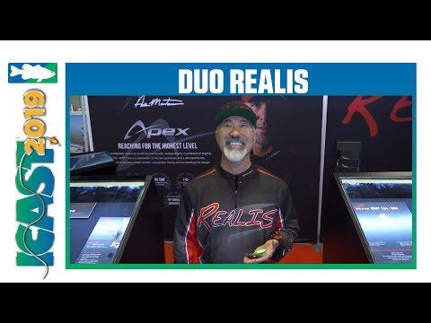 Duo Realis Kabuki 50 SR & 50 SSR Crankbaits | ICast 2019