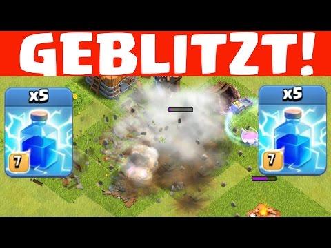 RATHAUS BLITZEN! || CLASH OF CLANS || Let's Play CoC [Deutsch/German HD+]