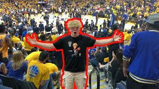 I Went To The NBA Finals!?!?