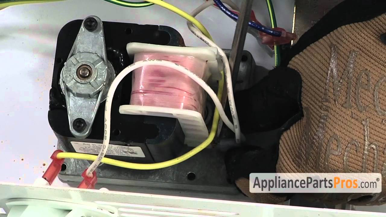 medium resolution of refrigerator ice dispenser motor part wp2188242 how to replace youtube