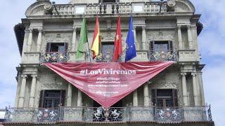 Pamplona acoge los 'No-Sanfermines' de 2020 sin chupinazo
