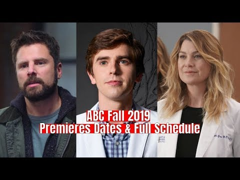ABC Fall 2019 Premieres Dates & Full Schedule
