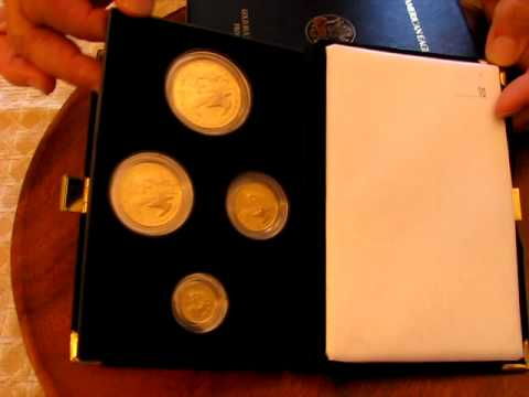 2008 American Eagle Gold Proof Four Coin Set