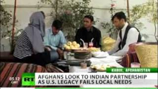 Newshound - India An Outside Presence Afghans Actually Welcome