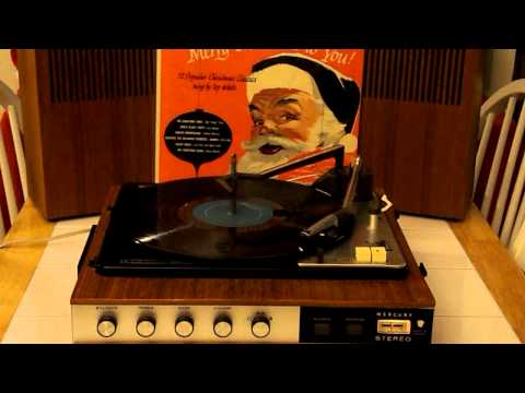 MERCURY STEREO PORTABLE RECORD PLAYER -- RUDOLPH THE RED NOSED REINDEER -- BILLY MAY