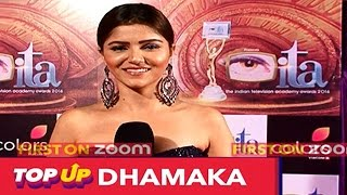 Rubina Dilaik AKA Soumya Designed Her Own Outfit For ITA Awards | #TellyTopUp