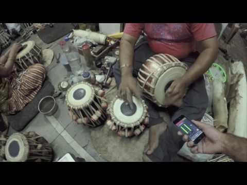 Collecting my new Tabla in Rajkot, Gujarat, India